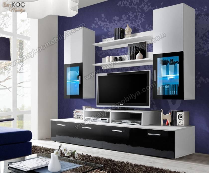 Modern Tv Ünitesi İstediğiniz Renklerde Üretim