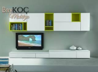 Lake Modern Tv Standı Ve Duvar Ünitesi Özel Ölçü Tasarım