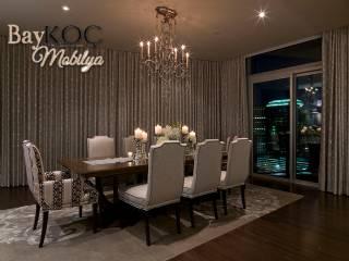 Lüx Modern Yemek Odası 8 Kişilik Yemek Masası