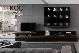 Modern Tv Standı İstenilen Renklerde Ve Ölçülerde Üretim Seçenekleri