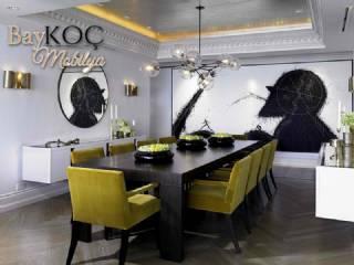 Yemek Odası Takımı Masa Ve Sandalyeler Modern Tasarım